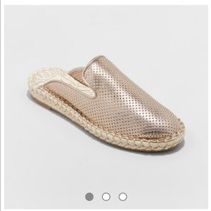 DV by Dolce Vita Rose Gold Elaine Espadrille Mule